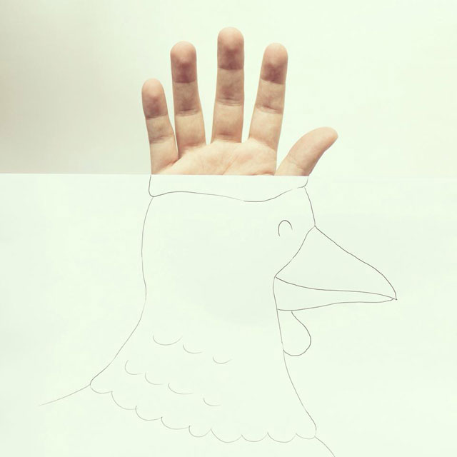 Clever Finger Doodles by Javier Perez (11)