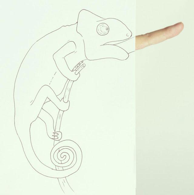 Clever Finger Doodles by Javier Perez (5)