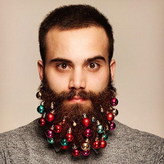 festive beard baubles turn beards into christmas trees (4)