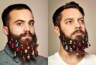 Festive Baubles Turn Beards Into Christmas Trees