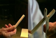 Master Carver Makes Wooden Pliers with 10 Cuts from a Single Block of Wood