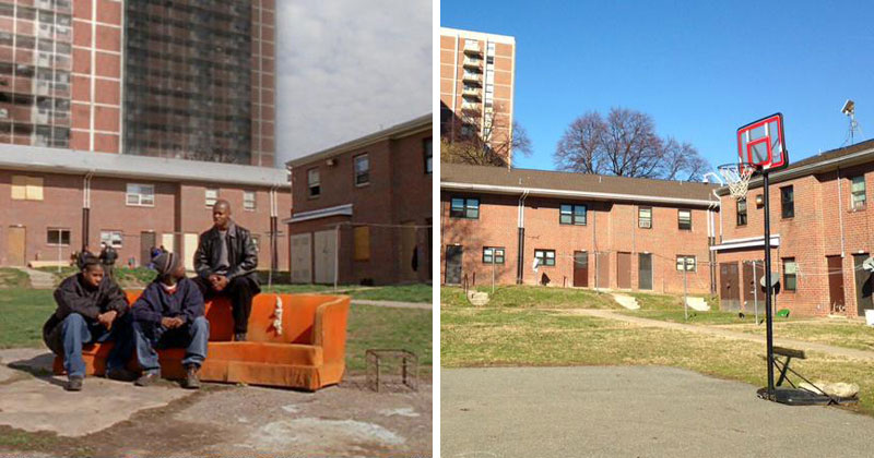 Scenes from The Wire: Then and Now