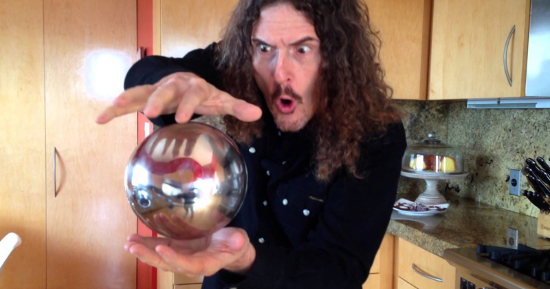 Weird Al's Mysterious Floating Orb May Surprise You