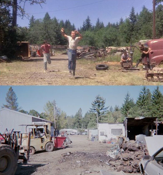 What Places from Stand By Me Look Like Today then and now (10)