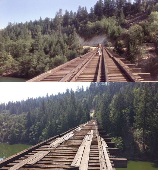 What Places from Stand By Me Look Like Today then and now (13)