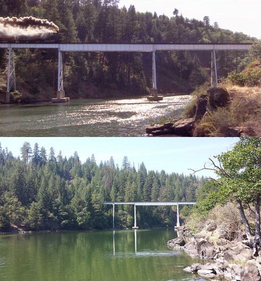 What Places from Stand By Me Look Like Today then and now (14)