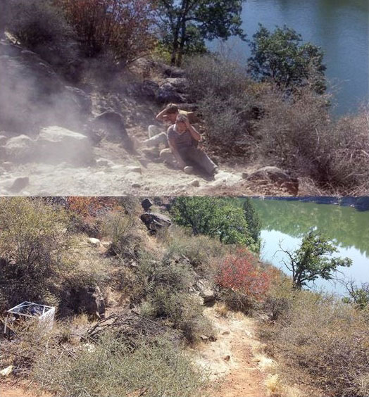 What Places from Stand By Me Look Like Today then and now (17)