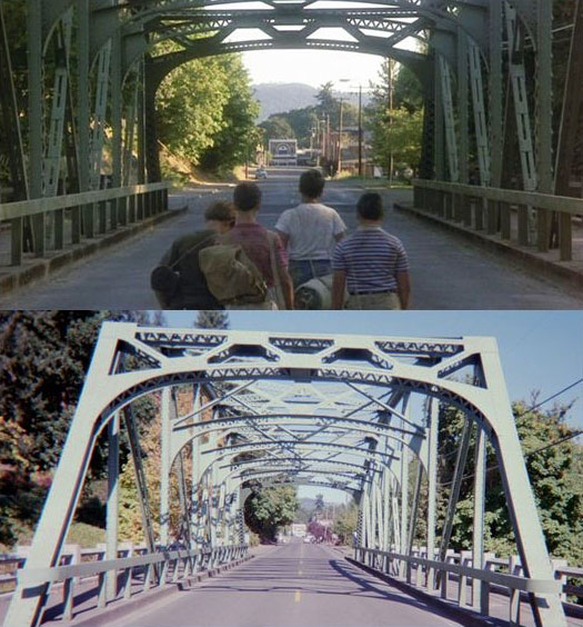 What Places from Stand By Me Look Like Today then and now (18)