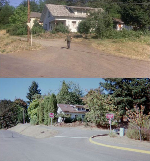What Places from Stand By Me Look Like Today then and now (19)