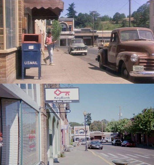What Places from Stand By Me Look Like Today then and now (2)