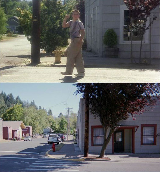 What Places from Stand By Me Look Like Today then and now (20)