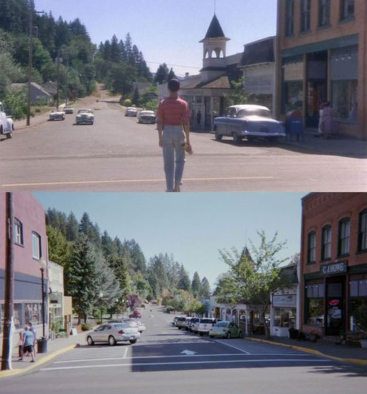What Places from Stand By Me Look Like Today then and now (3)