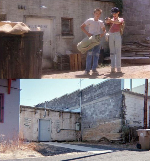 What Places from Stand By Me Look Like Today then and now (4)
