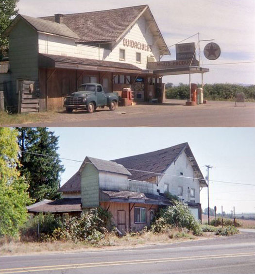 What Places from Stand By Me Look Like Today then and now (7)