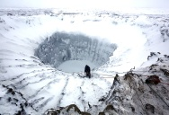 Picture of the Day: Mysterious Crater in Siberia
