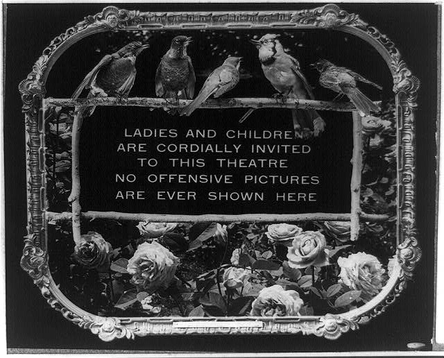 14 Vintage Movie Theatre Etiquette Posters from 1912 (5)