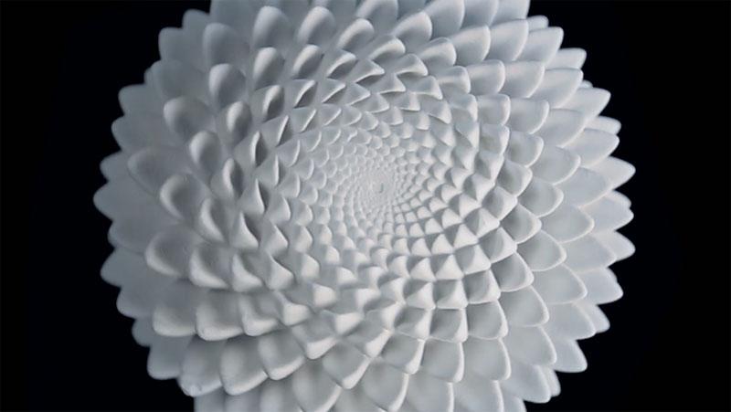 3D Printed Fibonacci Zoetrope Sculptures by John Edmark (4)