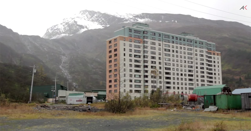 Almost Everyone in this Small Alaskan Town Lives in this One Building