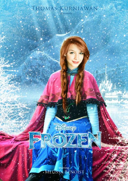 Artist Imagines Celebrities as Real-Life Disney Characters (1)