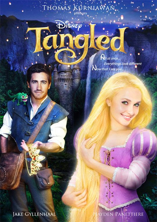 Artist Imagines Celebrities as Real-Life Disney Characters (12)