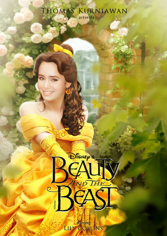 Artist Imagines Celebrities as Real-Life Disney Characters (3)