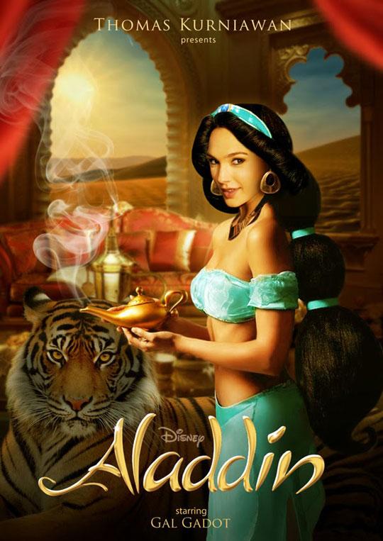 Artist Imagines Celebrities as Real-Life Disney Characters (7)