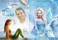 Artist Imagines 14 Celebrities as Real-Life Disney Characters