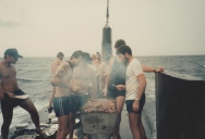 Picture of the Day: Barbecuing On Top of a Moving Submarine