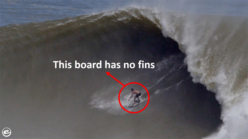 This Might Be the Biggest Wave Ever Ridden on a Skimboard