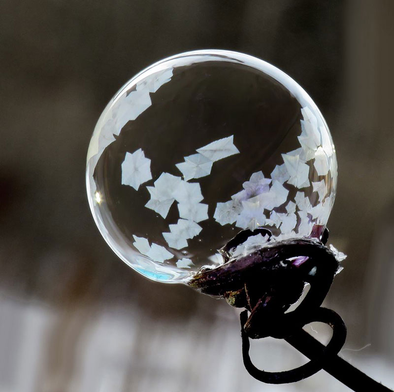 Blowing Soap Bubbles in Cold Weather by cheryl johnson (1)