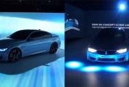 BMW Unveils Intelligent Lighting System at CES 2015
