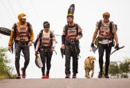 This Stray Dog Joined a Racing Team and Crossed the Finish Line with Them