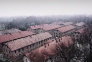 Drone Captures Haunting Aerial Footage of Auschwitz 70 Years On