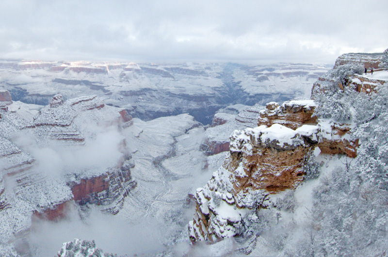 grand canyon snowstorm 2015 The Top 100 Pictures of the Day for 2015