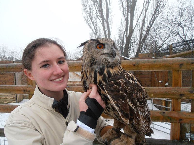Handler Shares Her Amazing Images With Birds of Prey (7)