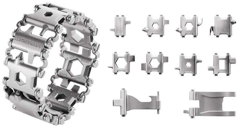 leatherman tread bracelet wearable with 25 tools (3)