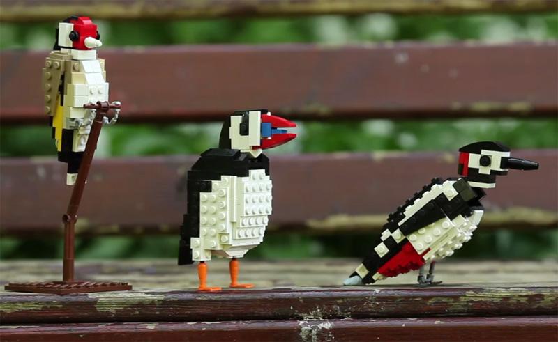 LEGO Birds by Tom Poulsom (2)