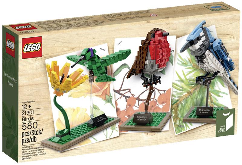 LEGO Birds by Tom Poulsom (4)