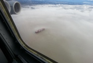Picture of the Day: Floating on a Cloud