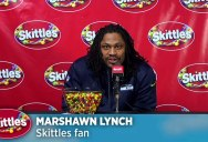 Marshawn Lynch Stiffs Reporters but Gives Skittles the Best Press Conference Ever