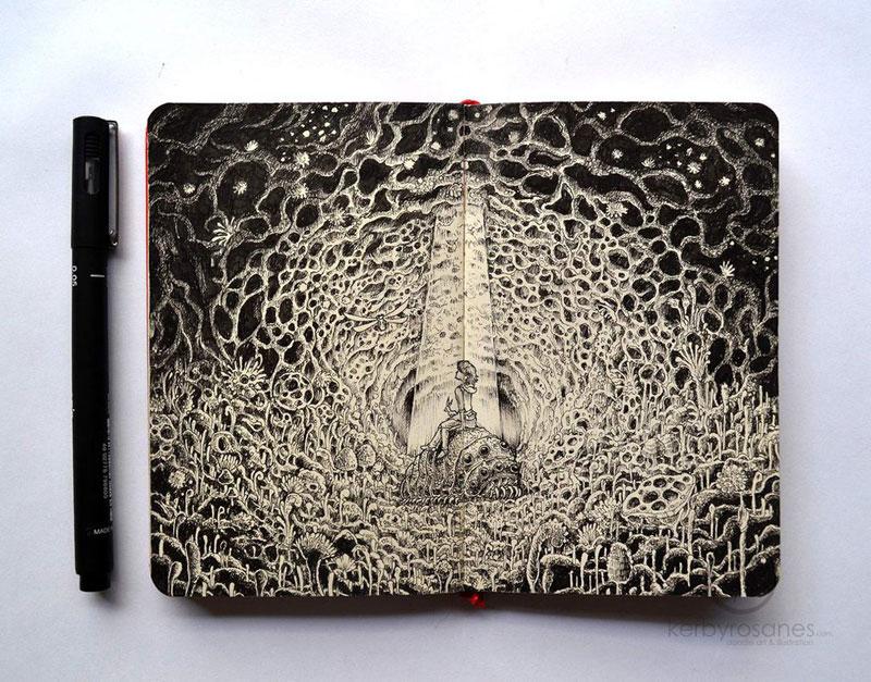 The Amazing Moleskine Sketchbook of Kerby Rosanes (10)