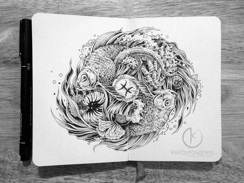 The Amazing Moleskine Sketchbook of Kerby Rosanes (11)