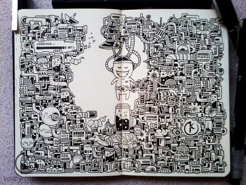 The Amazing Moleskine Sketchbook of Kerby Rosanes (12)