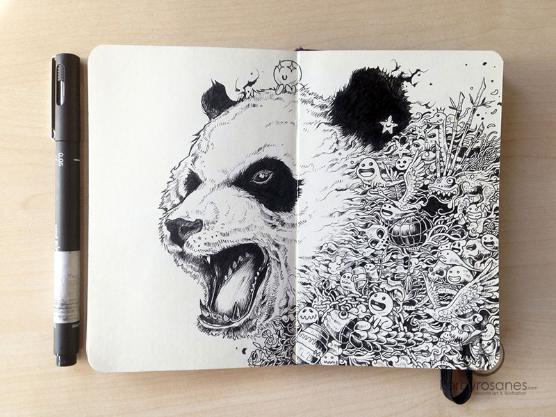 The Amazing Moleskine Sketchbook of Kerby Rosanes (2)