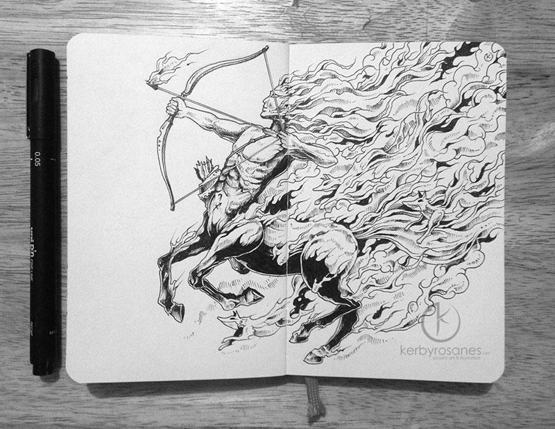 The Amazing Moleskine Sketchbook of Kerby Rosanes (4)