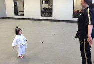 3 Year Old White Belt Recites the Karate Student Creed