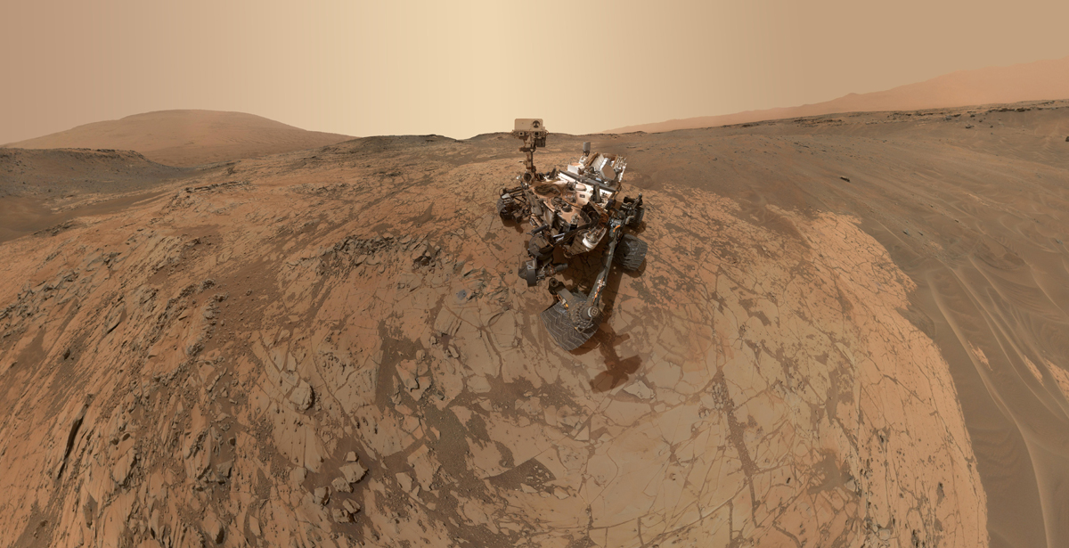 curiosity rover selfie 2015 nasa mars Picture of the Day: Curiositys Latest Selfie from Mars