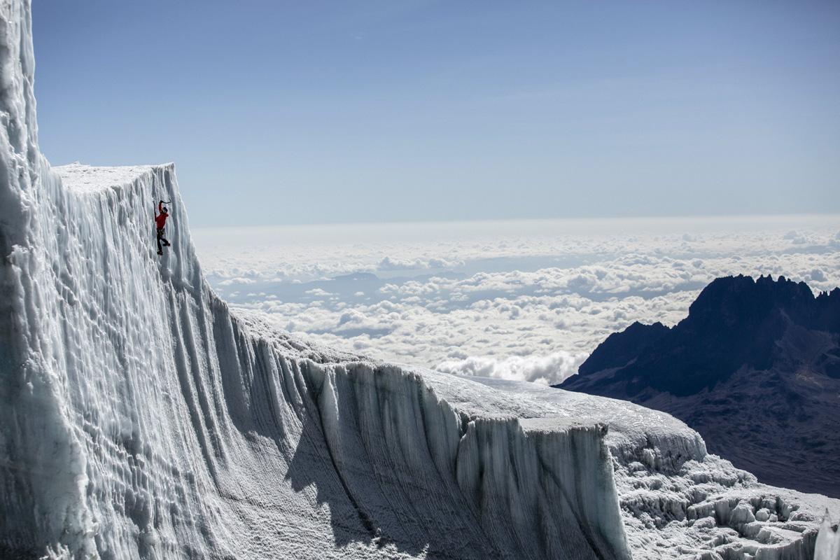 ice climbing at the summit of kilimanjaro will gadd red bull (4)