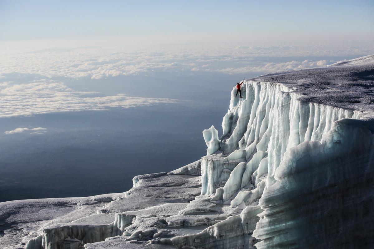 ice climbing at the summit of kilimanjaro will gadd red bull (5)