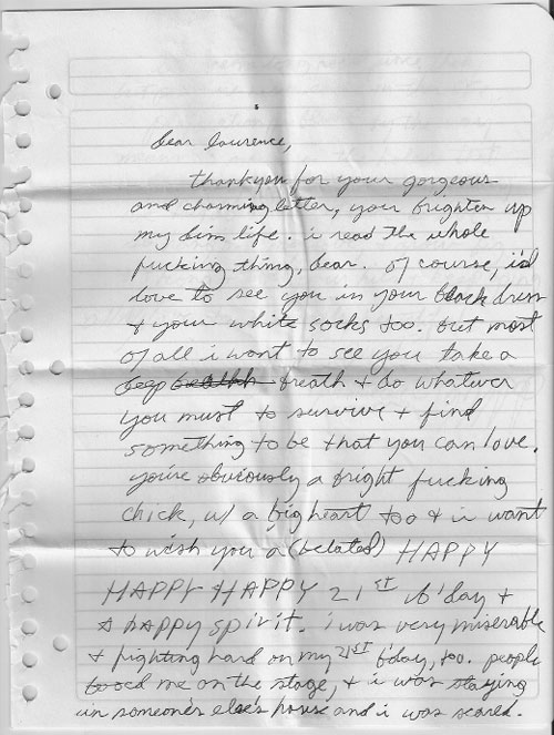 iggy pop letter 20 Amazing Letters Worth Reading